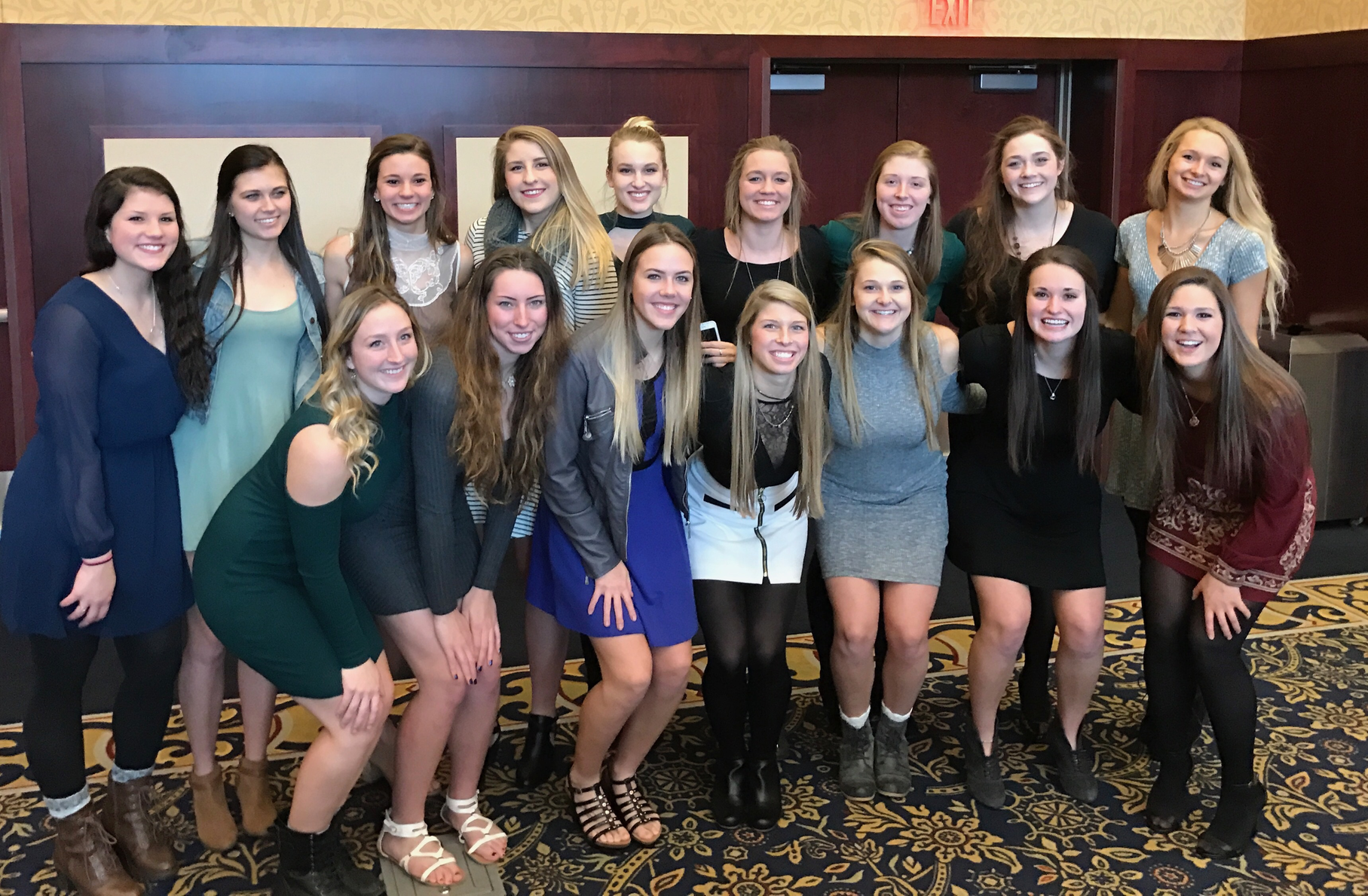Team Award Winners Announced for Volleyball