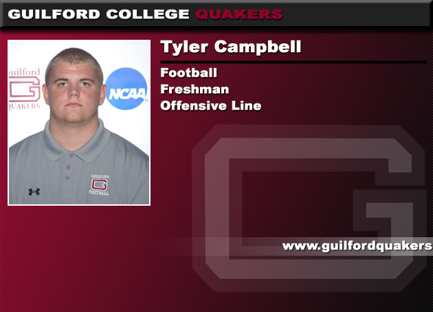 Guilford's Campbell Named a Finalist for National Scholar Athlete Award