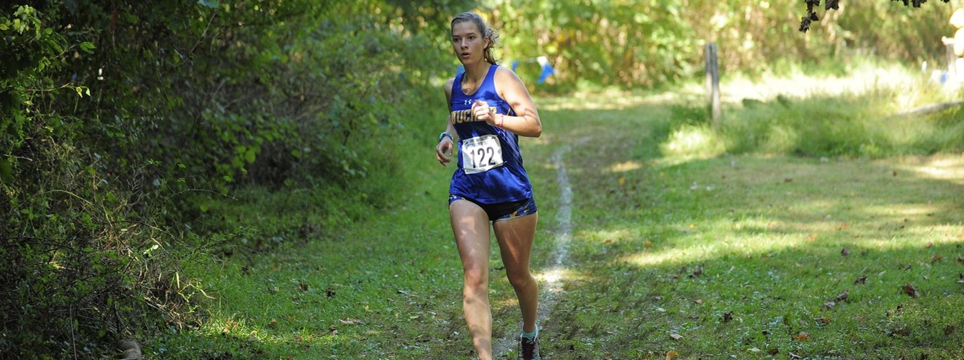 Bulson-Lewis And Holtzman Post Top Times For Goucher Cross Country At Landmark Conference Cross Country Championships