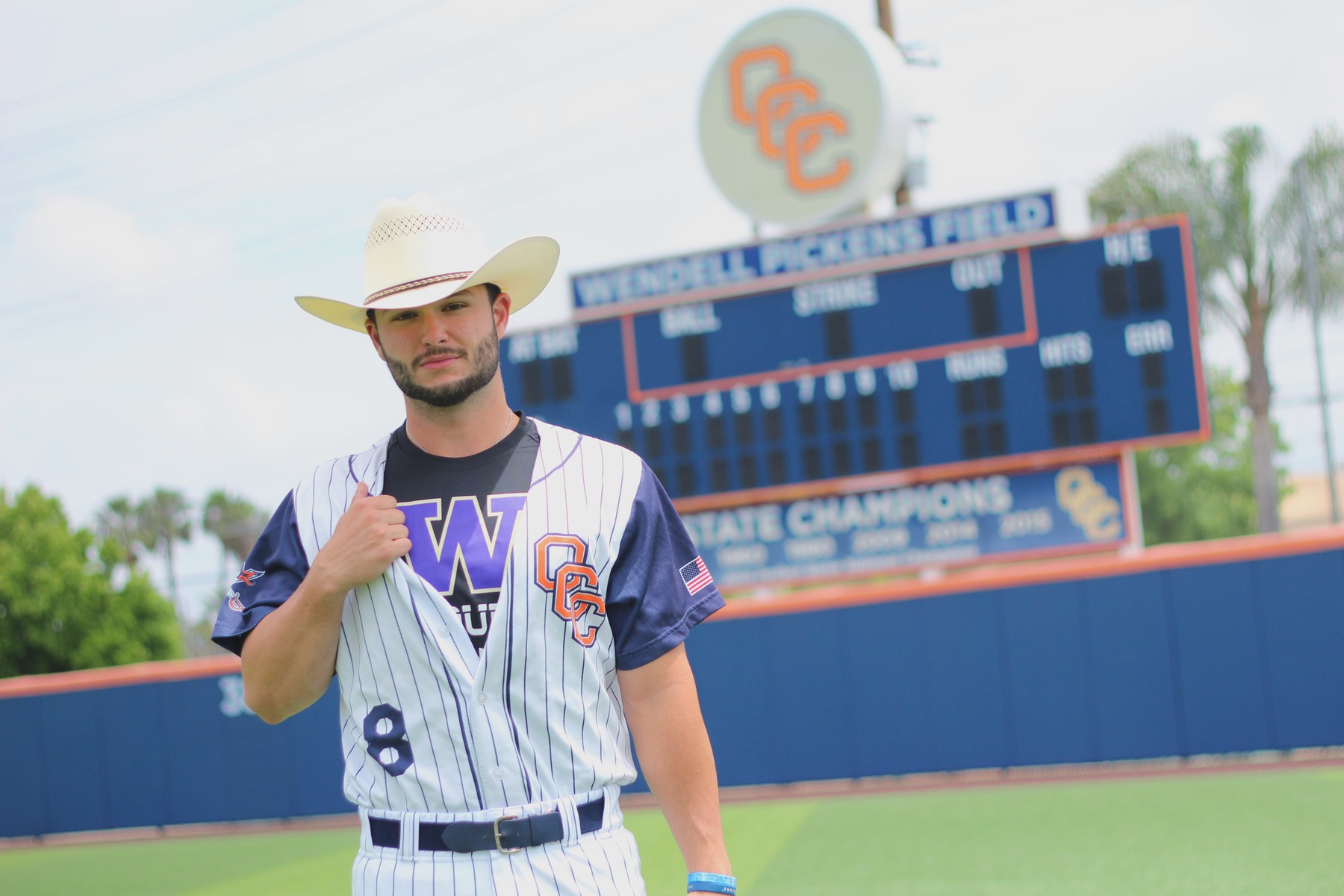From the Pandhandle to the Pirates, Williams finds a home at OCC
