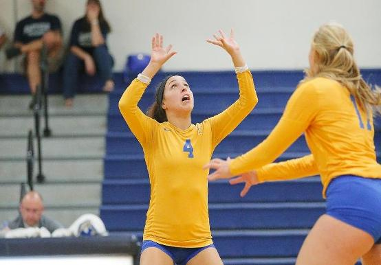 WOMEN'S VOLLEYBALL PICKS UP FIRST WIN AT WHEATON INVITATIONAL