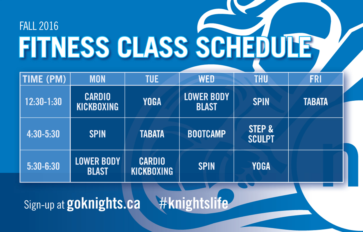 SIGN-UP: Fitness Classes