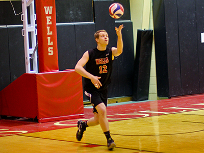 Men's Volleyball Opens Home Calendar With 3-0 Victory