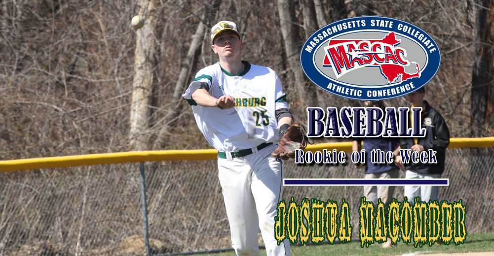 Macomber Named MASCAC Baseball Rookie Of The Week
