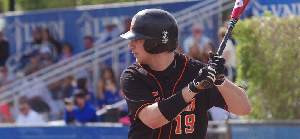 Nick Lacina scored 4 runs and hit his first grand slam in Tusculum's DH sweep over Newberry