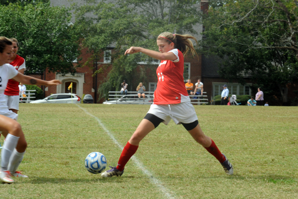 Huntingdon women's soccer ties N.C. Wesleyan
