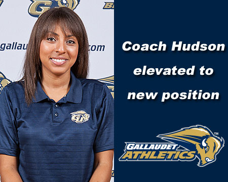Mikaela Hudson named full-time coach for Gallaudet's cross country, track and field programs