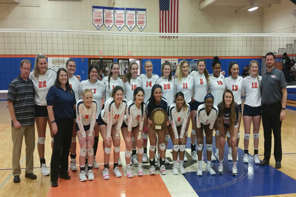 Eastfield wins DAC Volleyball Tourney