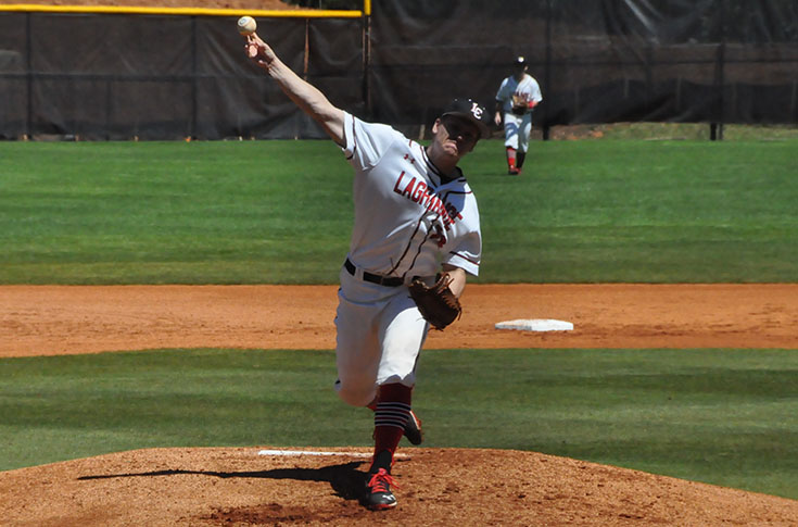 Baseball: Win streak reaches nine as Panthers sweep Methodist in USA South doubleheader