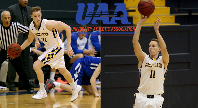 UAA Announces Men's Basketball All-Association Team; Sam Borst-Smith of Rochester Named Player of the Year