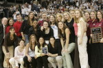Women's Basketball Honored for Community Service