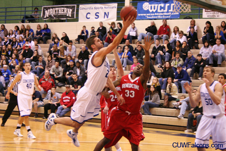 Men's Basketball claims No. 1 seed in NAC Tournament