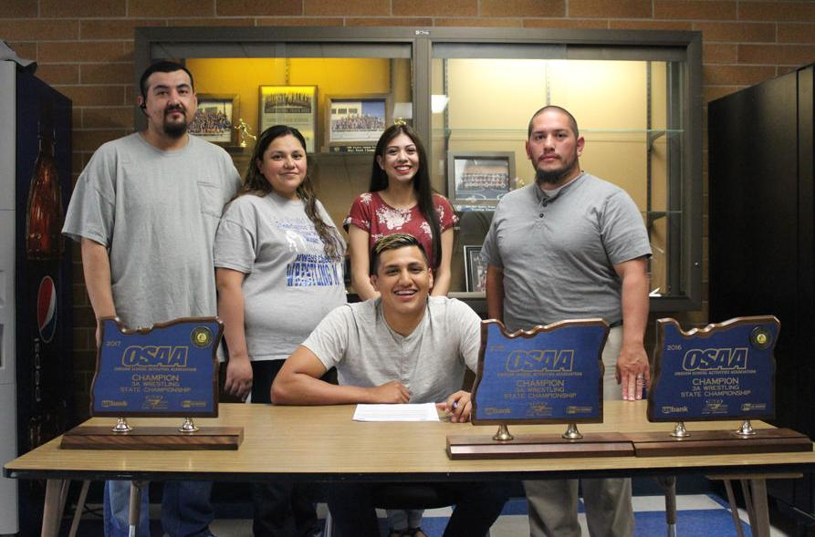 UCC Men's Wrestling Signs Two-Time State Champion