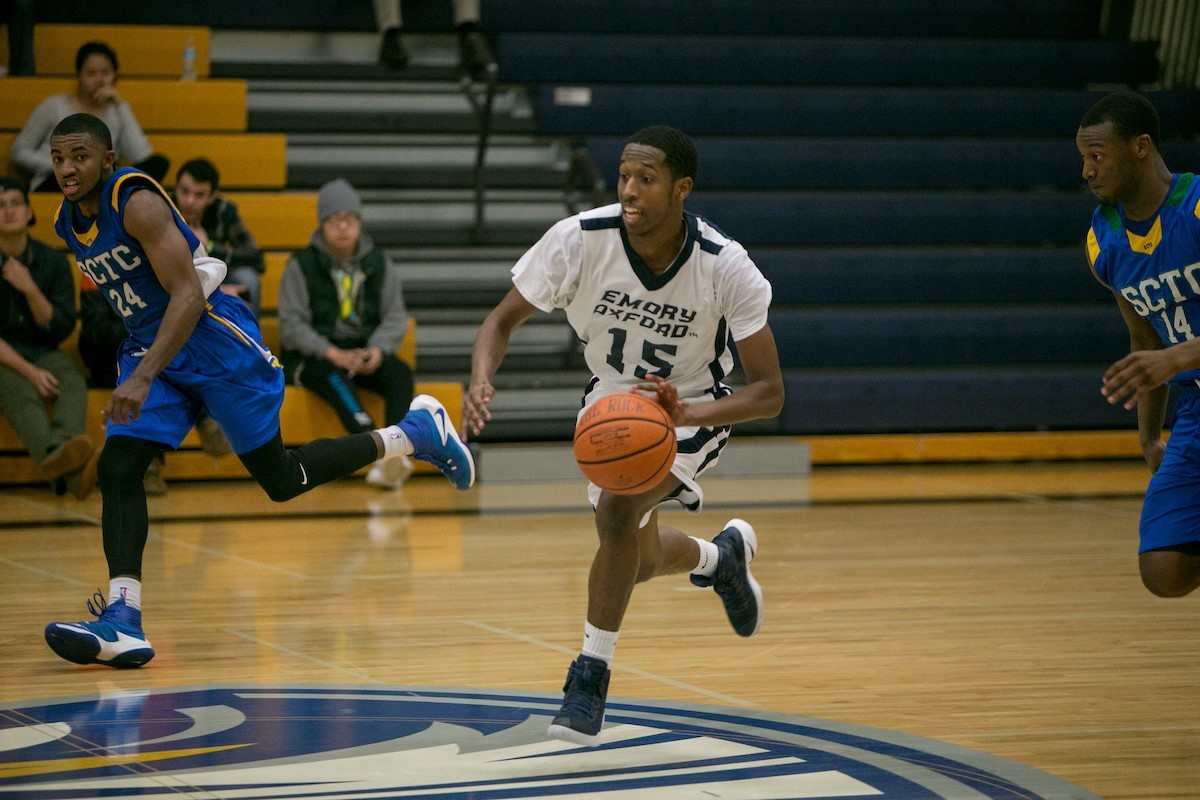 Oxford Men's Basketball Holds Off Pasco Hernando State College