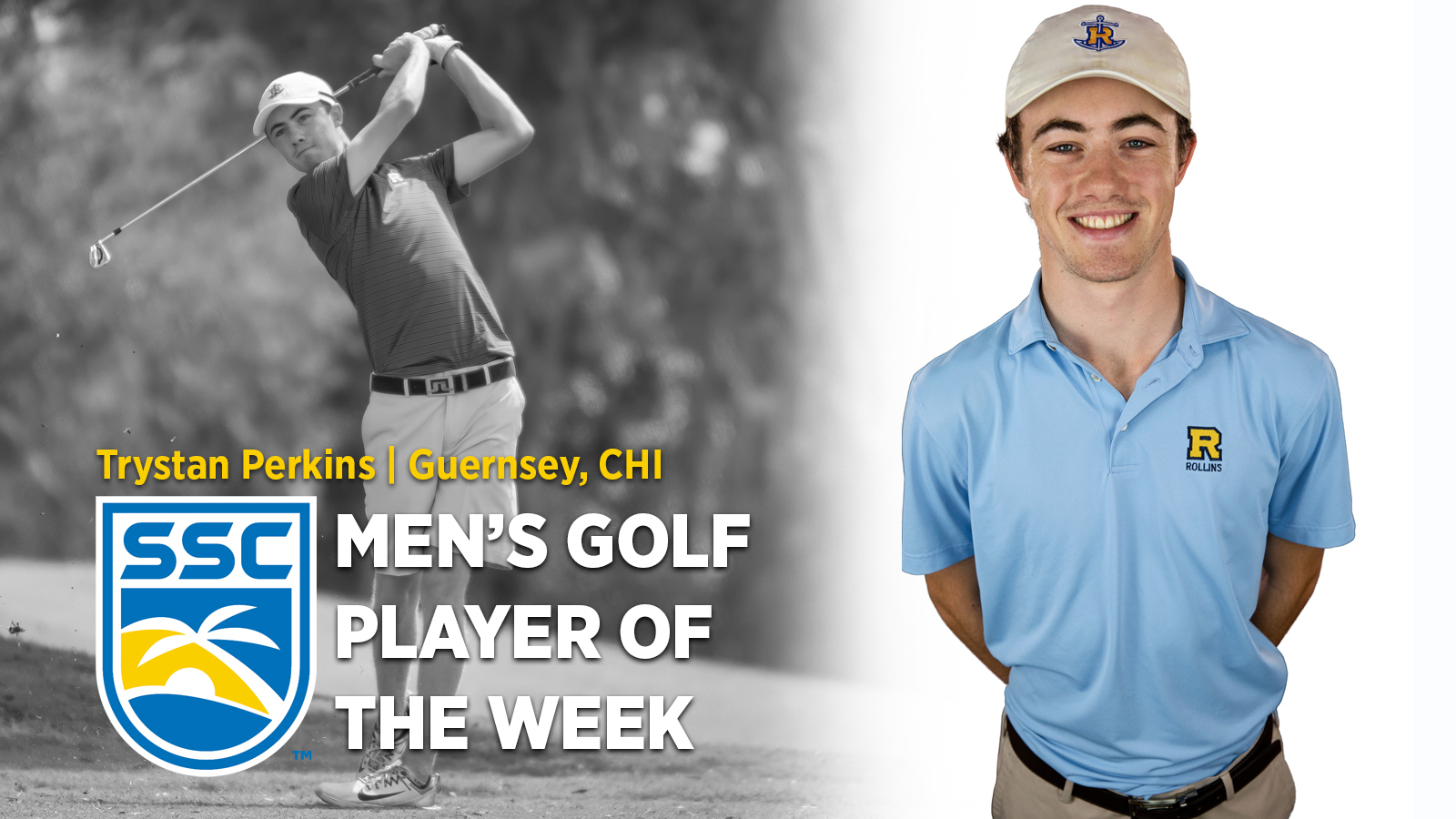 Perkins Repeats as SSC Golfer of the Week