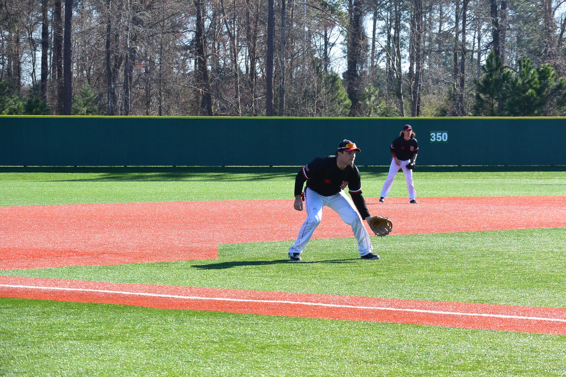 BASEBALL DROPS TWO TO SLIPPERY ROCK