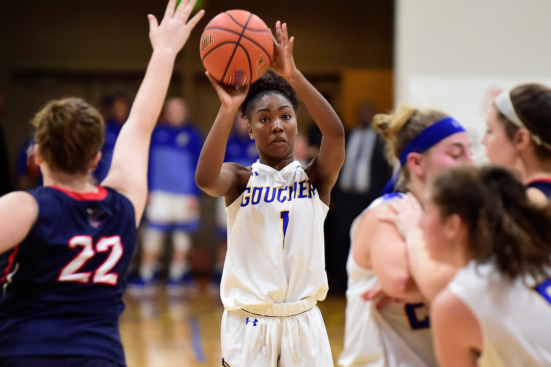 Women's Basketball Falls to Catholic at Home in Landmark Conference Play