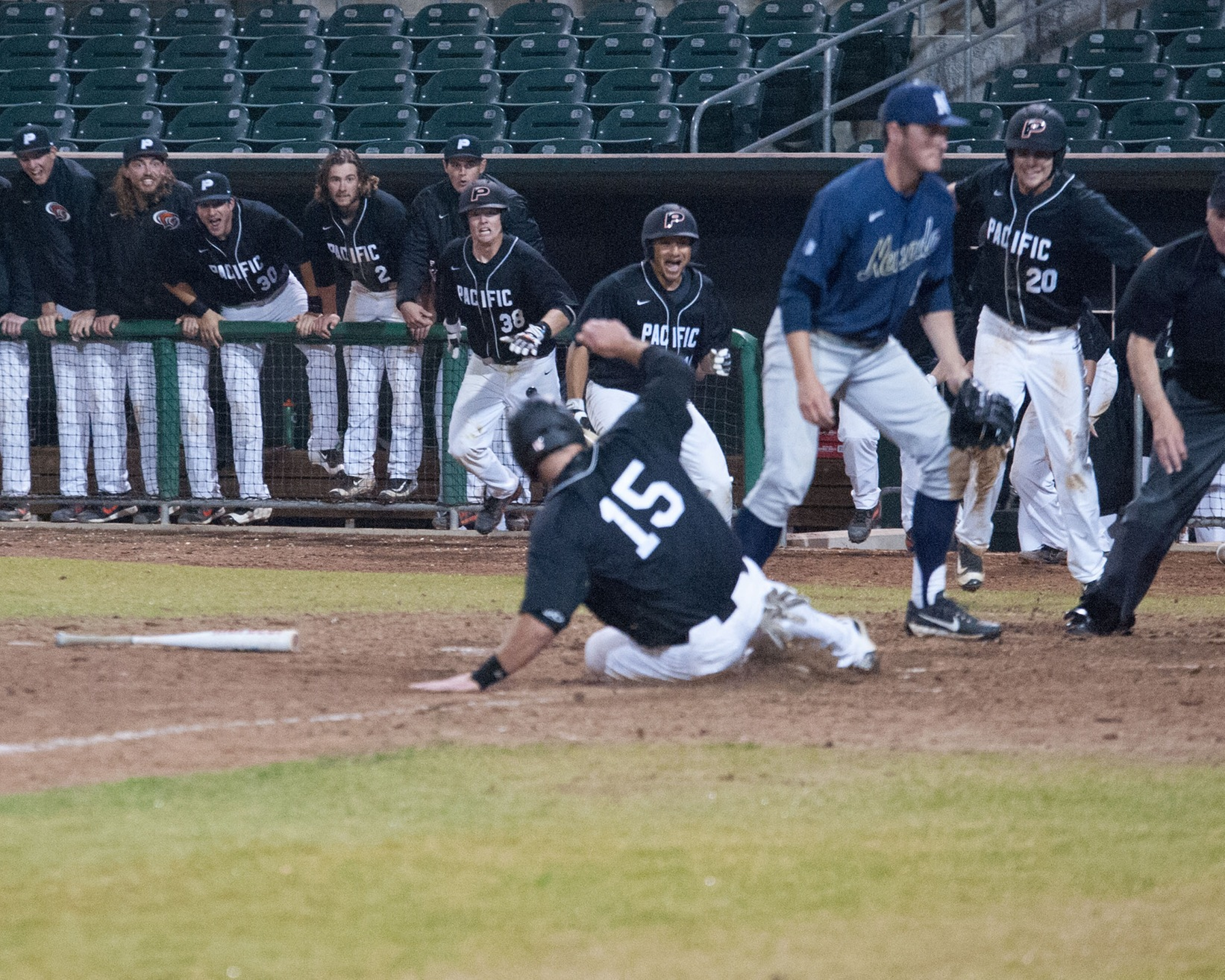 Pacific Defeats Nevada in Extra Innings, 10-9