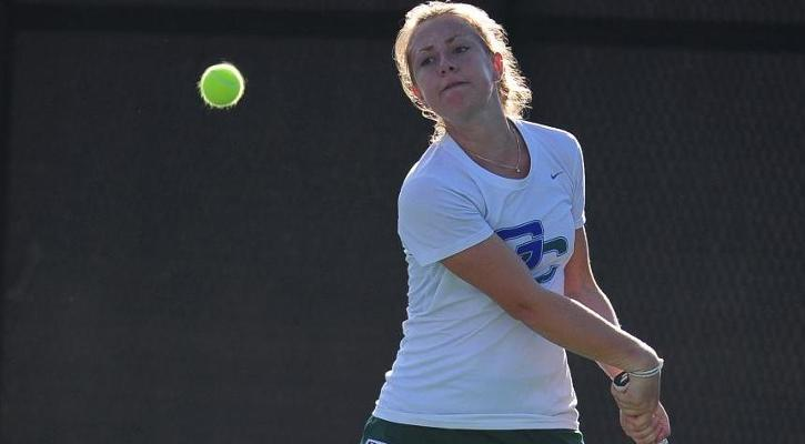 Clausse-Pujo Win Highlights #26 GC Women's Tennis Loss to #18 Midwestern State, 8-1