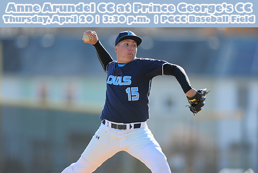 Prince George's Baseball Battles Anne Arundel At Home On Thursday