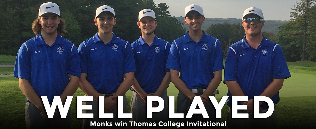 Monks Win Thomas College Invitational