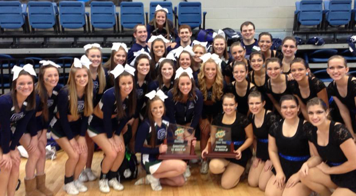 Georgia College Places All Three at PBC Spirit Competition