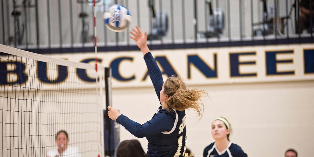 Volleyball Rewrites Record Books in Sweep of Pine Manor