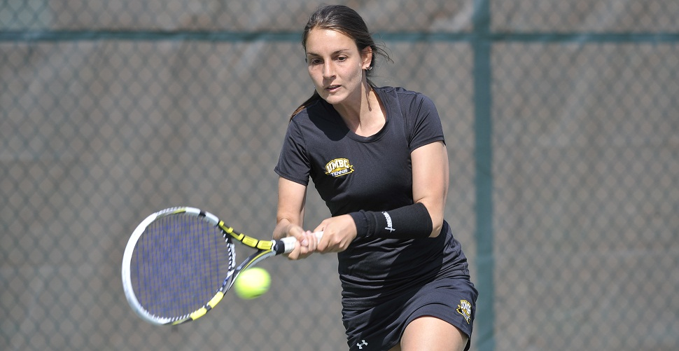 Kim Berghaus Headlines America East Women's Tennis Awards for Retrievers