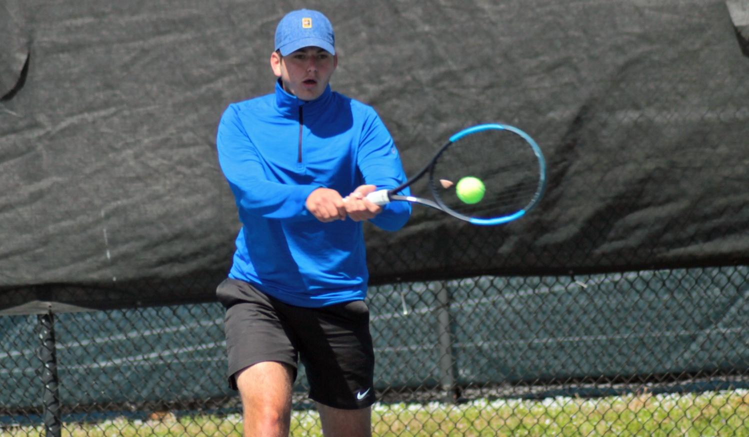 Win Streak Reaches Four Matches for Men's Tennis with Win at Maryville