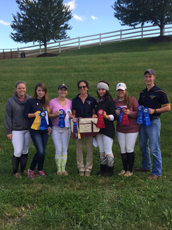 Intermont Equestrian IDA Team Captures First At Bridgewater Sunday