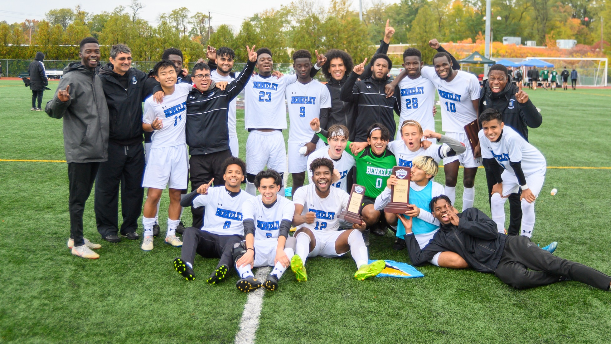 Berkeley Fends Off SUNY ESF For First Men's Soccer Title Since 2015