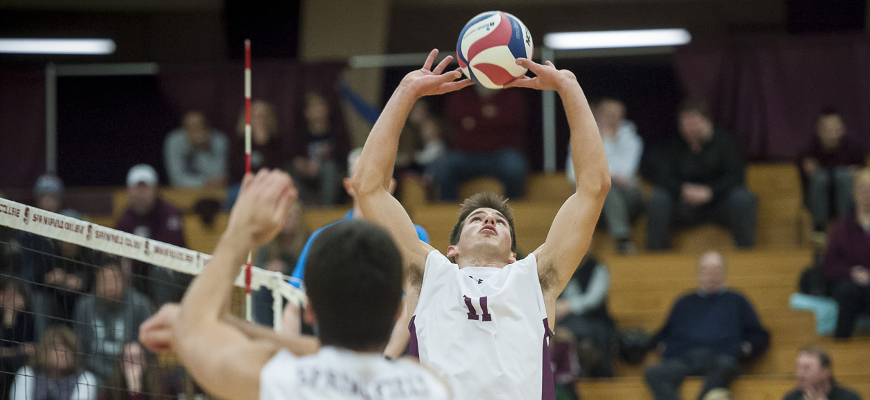 Top-Ranked Men's Volleyball Downs Baruch; Sets NCAA Record For Most Consecutive Sets Won