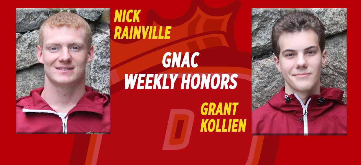 Men's Swimming Sweeps GNAC Weekly Honors