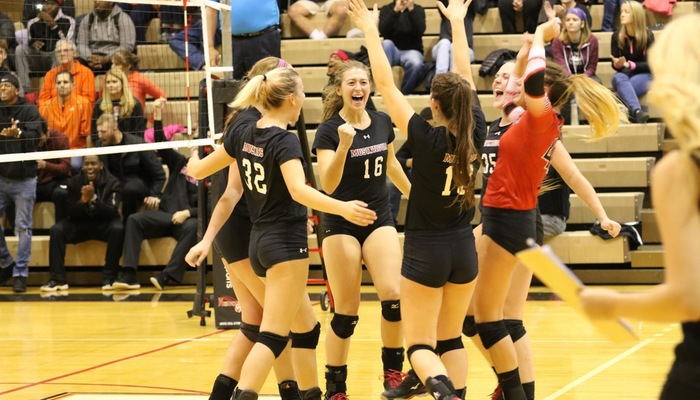 Volleyball's Thrilling Season comes to an end against Heidelberg in OAC Tournament