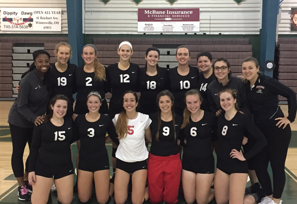 Comeback Sends Women's Volleyball to AMCC Semi-Finals