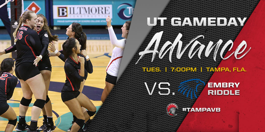 Tampa Volleyball is Set to Host Embry-Riddle