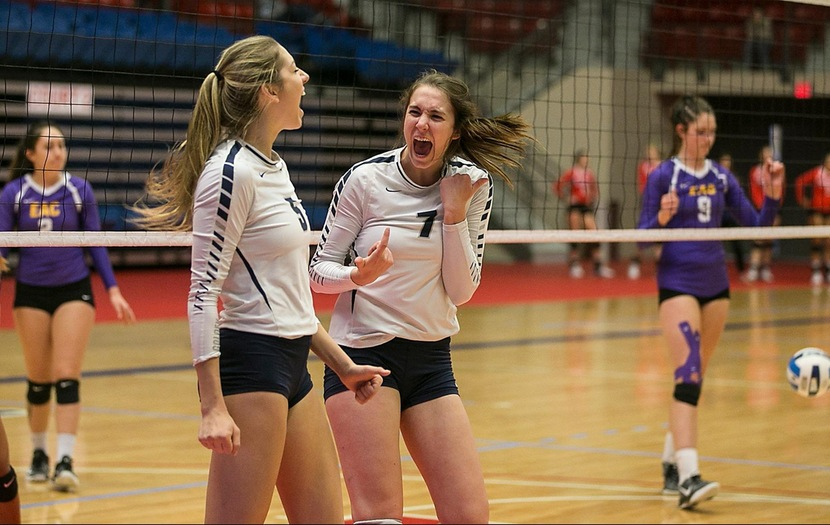 Volleyball Defeats Eastern Arizona in Second Match of National Tournament
