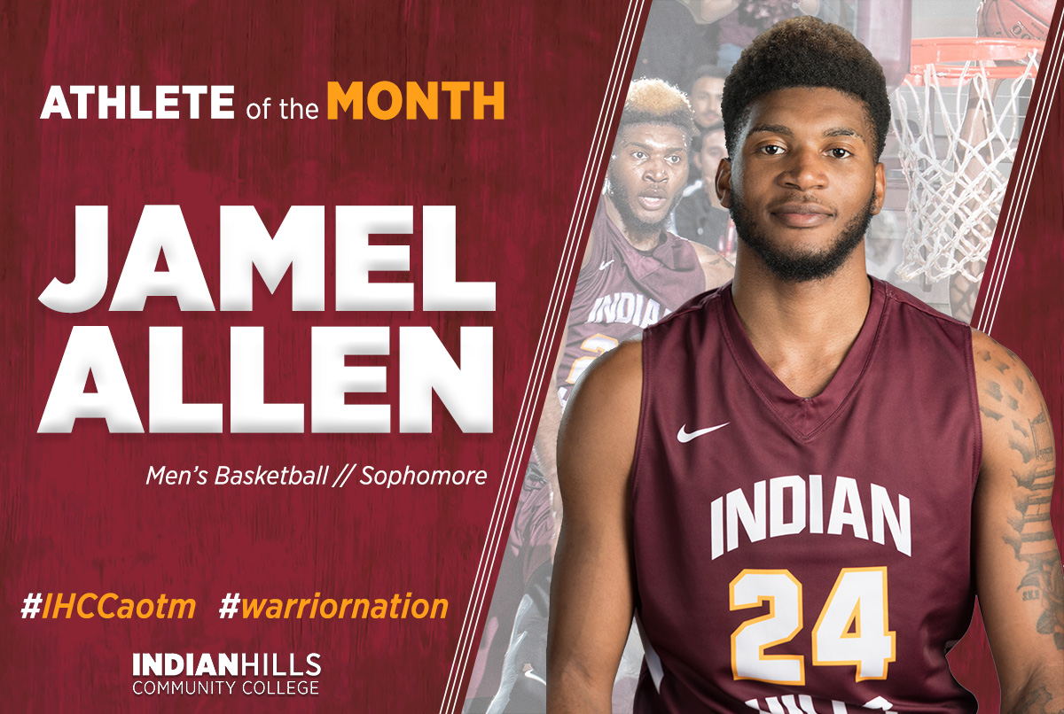 Jamel Allen - Athlete of the Month
