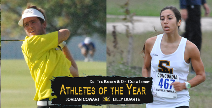 Cowart, Duarte named Kassen/Lowry Athletes of the Year