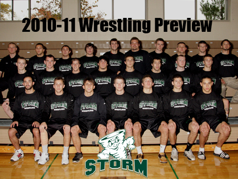 Video Preview: Storm Look to Start Program Strong in First Wrestling Season