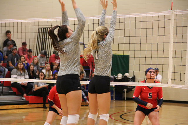 Volleyball Falls Short in Conference Match Against DCC
