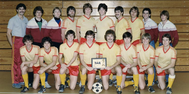 1982 Willamette Men's Soccer Team