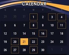 Trips Calendar