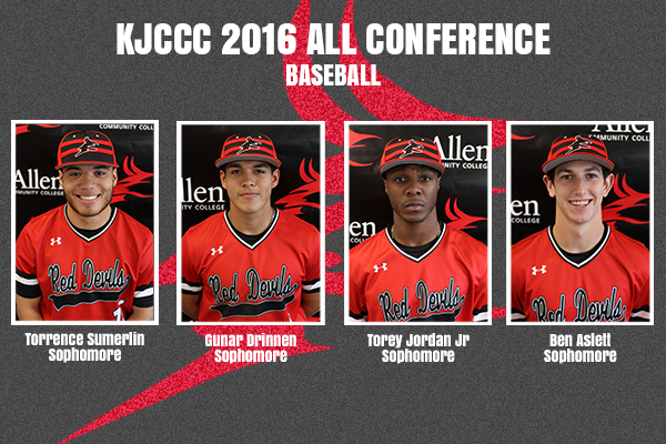 Baseball All Conference Selections-Sophomores