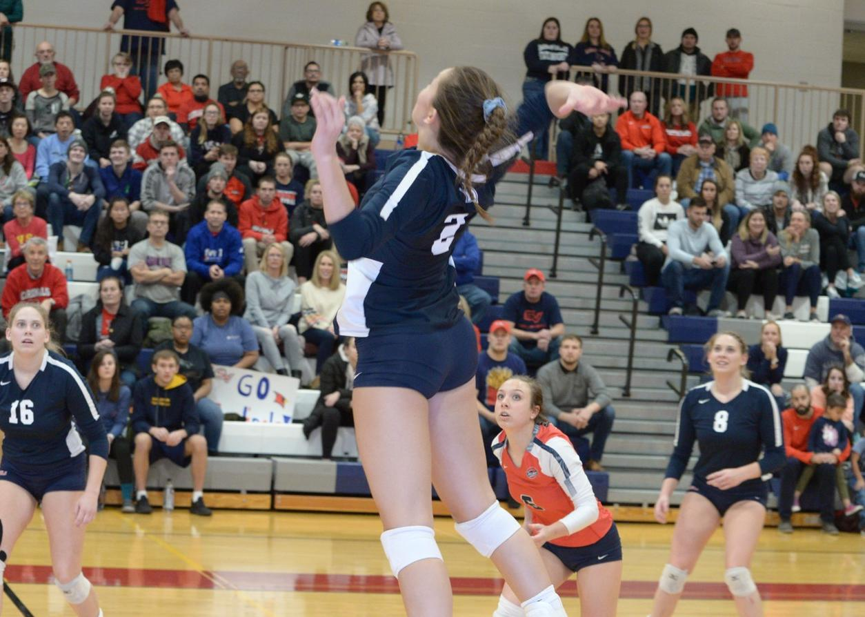 Volleyball falls to top-seeded Lewis in Midwest Regional Quarterfinals