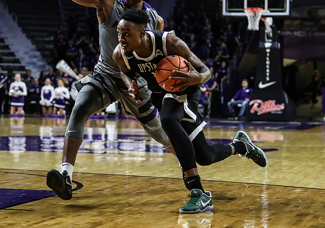 Smith Scores Career-High in Upstate's Road Loss at Kansas State