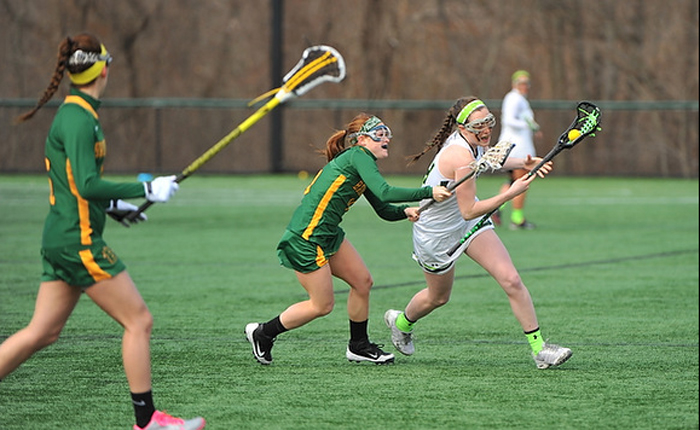 Monteiro's First Career Goal Highlights Mustangs 11-9 Loss to Brockport