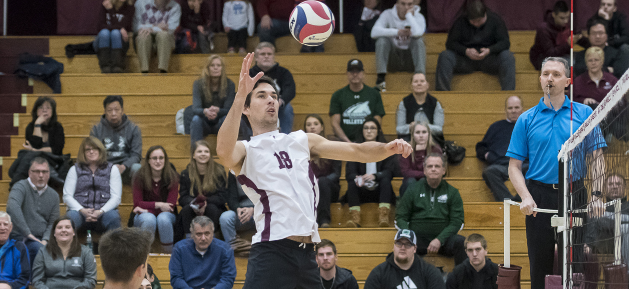 No. 1 Men's Volleyball Eases Past Lasell For Sullivan's 400th Career Win