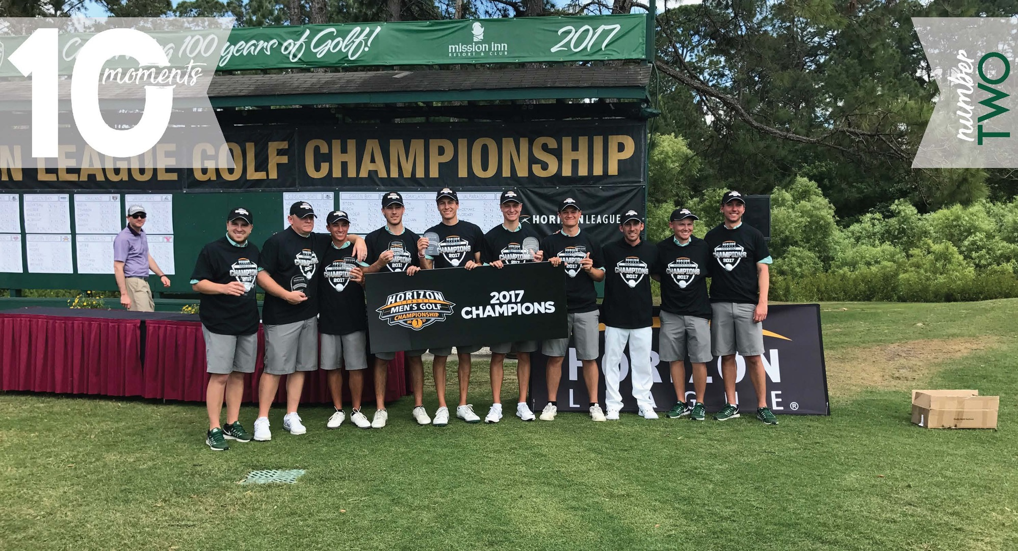 2016-17 CSU Athletics Top 10 Moments | #2 Men's Golf Wins 4th Straight League Title