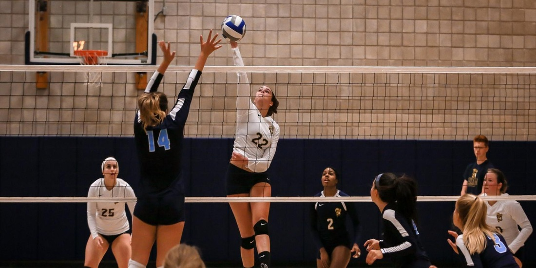 Volleyball Falls to Manhattanville in Straight Sets